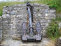 """Anchor from the shipwrecked MV """"Hindlea"""" - geograph.org.uk - 468834.jpg"""