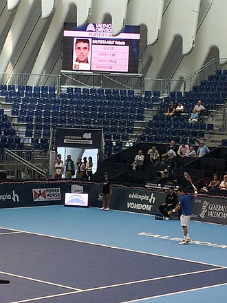 Roberto Bautista Agut - Bautista Agut at 2013 Valencia Open 500.