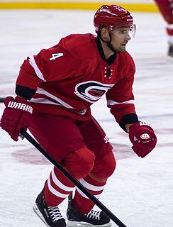 Andrej Sekera Slovak ice hockey defender, ice hockey player and Olympic athlete