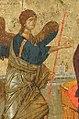 Angel - Annunciation Icon Serbia 14th c (cropped).jpg