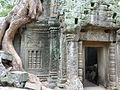 Angkor - Ta Prohm - 006 Window and Door (8580830585).jpg