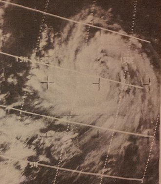 1967 Pacific typhoon season - Image: Anita Jun 271967ESSA5