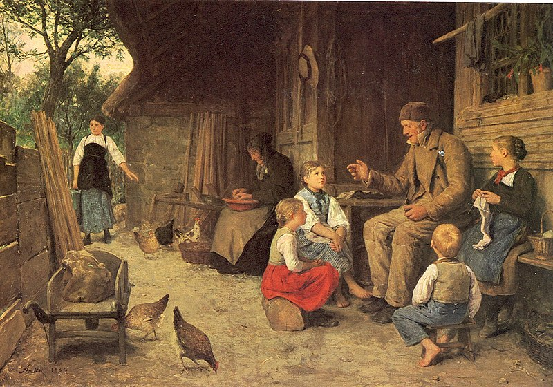 Datei:Anker Grossvater erzählt eine Geschichte 1884.jpg