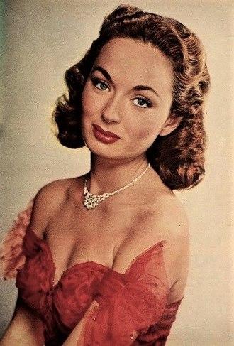 Ann Blyth - Blyth in April 1952 for Modern Screen Magazine.