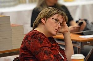 Anne Leinonen - Image: Anne Leinonen i publiken på Åcon 5
