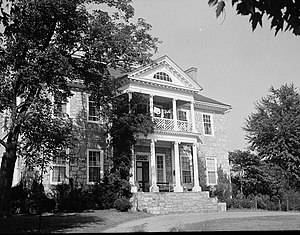 National Register of Historic Places listings in Clarke County, Virginia - Image: Annefield, State Route 633 vicinity, Boyce vicinity (Clarke, Virginia)