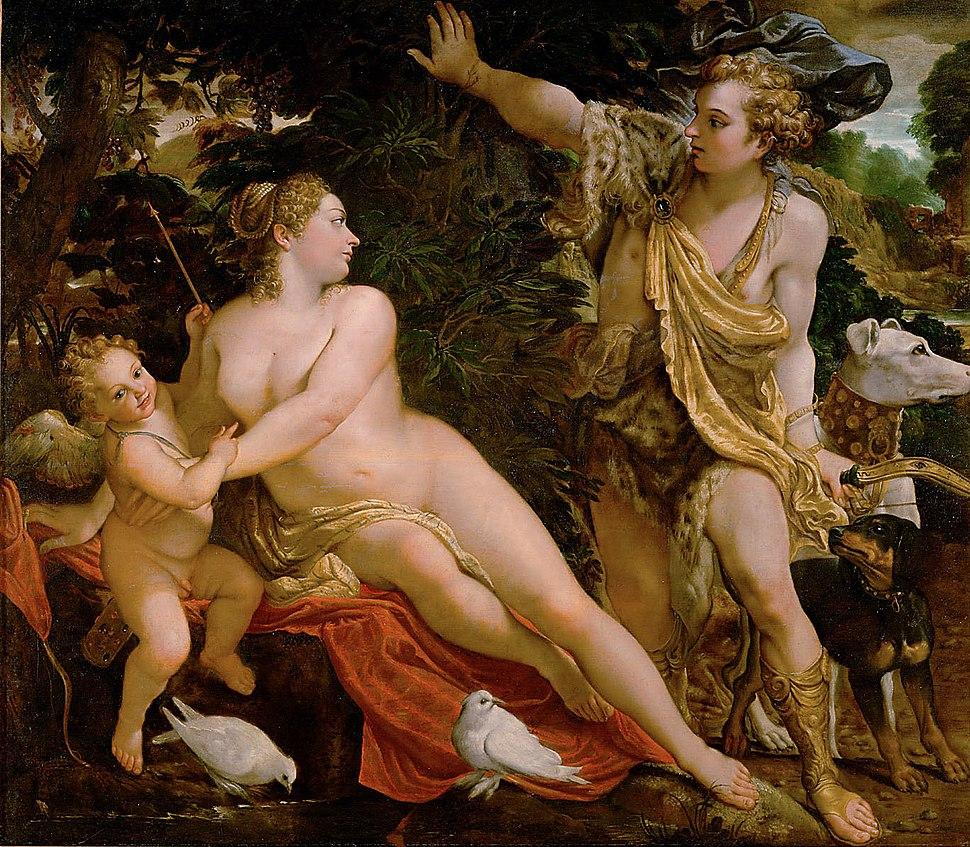Annibale Carracci - Venus and Adonis - WGA4429