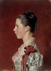 Portrait of the Artist´s Sister Annie Edelfelt