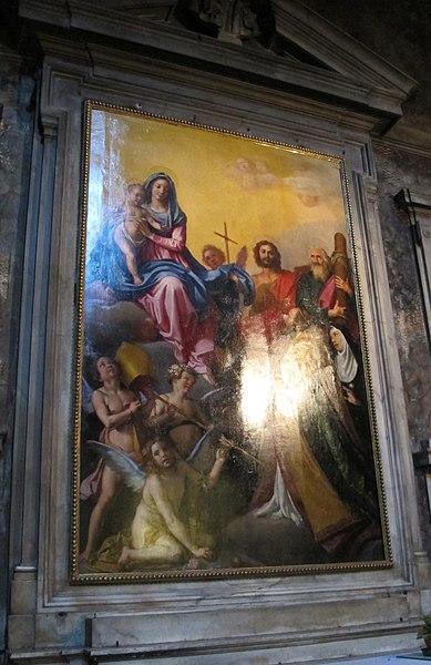 File:Annunziata, cappella di s. nicola, pala dell'empoli 01.JPG