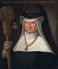 Portrait of Abbess Eufemia Szaniawska (1712-1799).