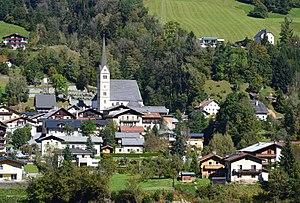Taxenbach von Süden aufgenommen