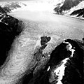 Antler Glacier, Broken Top, Valley Glacier and Distributary, August September 1961 (GLACIERS 875).jpg