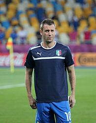 Antonio Cassano before Euro 2012 match vs England.jpg