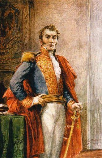 Antonio Nariño - Watercolor by Ricardo Acevedo Bernal