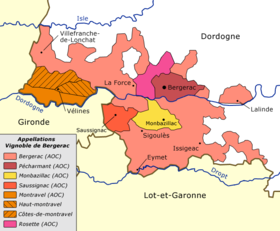 Image illustrative de l'article Vignoble de Bergerac