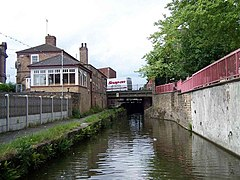 Approaching Worksop Town Lock - geograph.org.uk - 453354.jpg