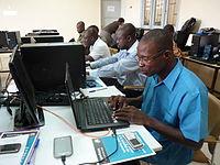 Salle informatique CNF Abidjan