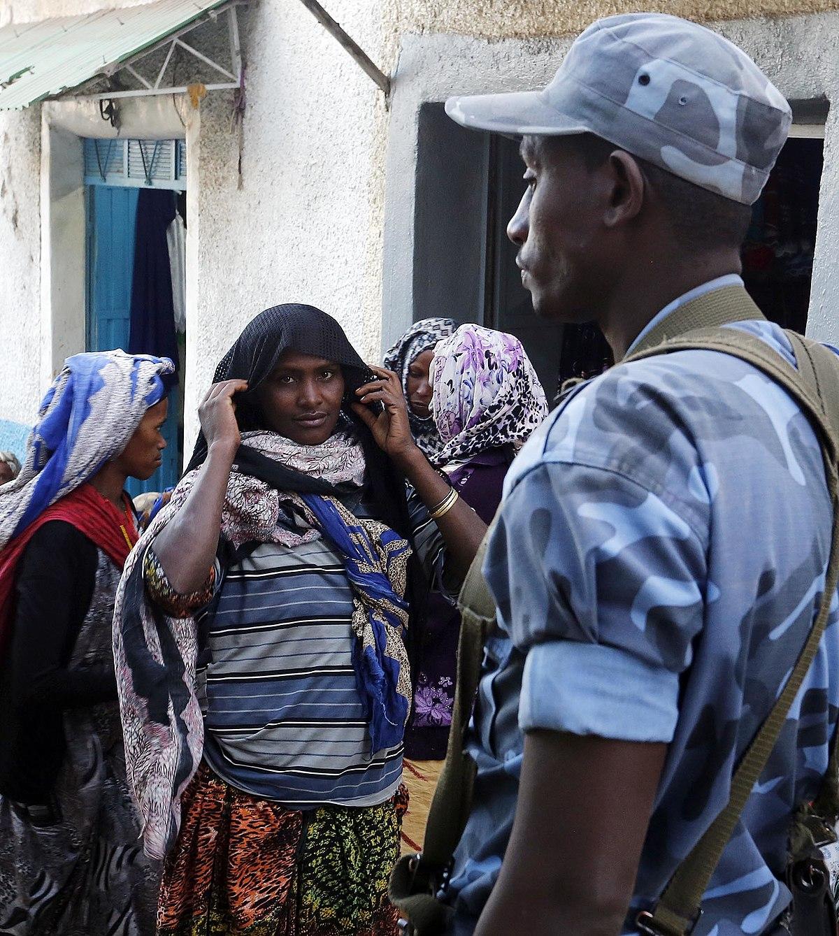 law enforcement in ethiopia
