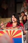 Arizona State Treasurer Kimberly Yee Speaks At Prescott Election Eve Rally (43971704600).jpg
