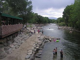 Salida, Colorado - Arkansas River Walk, Downtown Salida