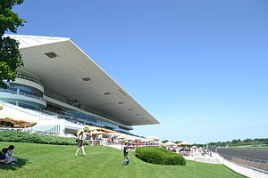 Arlington Park - The Arlington grandstands