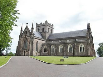 Archbishop of Armagh - St Patrick's Church of Ireland Cathedral, Armagh, the episcopal seat of the pre-Reformation and Church of Ireland archbishops.