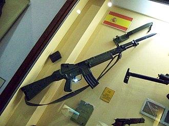 CETME Model L - Image: Armamento Museo de Armas de la Nación 22