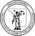 Armando Ramirez, Osceola County Clerk of the Circuit Court (official seal).png