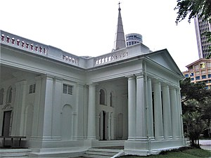 Religion in Singapore - Armenian Church (built 1835) is the oldest church in Singapore.