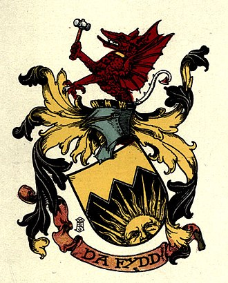 Arthur Charles Fox-Davies - Image: Arms of Fox Davies of Coalbrookdale