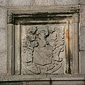 Arms of George Leslie and Christian Walker... (geograph 4330752).jpg