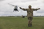 Army Air Corps Reserves train with Wildcat helicopters MOD 45164378.jpg