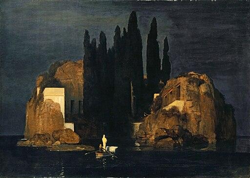 Arnold Böcklin - Die Toteninsel I (Basel, Kunstmuseum)