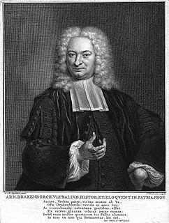 Arnold Drakenborch Dutch classical scholar