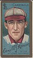 Arnold J. Hauser, St. Louis Cardinals, baseball card portrait LCCN2008677418.jpg