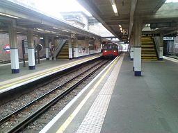 Arnos Grove Tube Station Platform 2