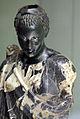 Arte romana con restauri moderni, testa di moro antico con corpo di restauro 05.JPG