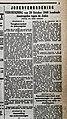 """Artikel """"Jodenvordering"""" uit """"Het Algemeen Nieuws"""" (6 November 1940) over Jodenvervolging in België.jpg"""