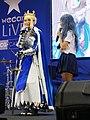 Artoria Pendragon cosplayer and Beryl 20190413a.jpg