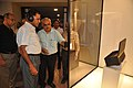 Arun Goel With NCSM Dignitaries Visit Objects In CRTL Archive Exhibition - NCSM - Kolkata 2018-09-23 4444.JPG