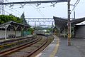 Asano Station Umi-Shibaura Branch Line platforms and train - june 14 2015.jpg
