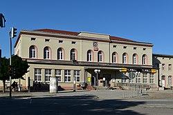 Aschersleben Herrenbreite 24 Hauptbahnhof 02.jpg