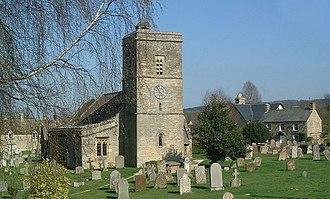 Ascott-under-Wychwood - Image: Ascott under Wychwood church