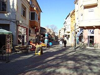 Asenovgrad Town in Plovdiv, Bulgaria