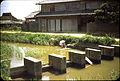 Ashiya-machi, Fukuoka Prefecture, Washing Clothes In Waterway - 1955.jpg
