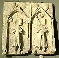 Asnières-sur-Oise (95), abbaye de Royaumont, pierres tombales de Louis et Philippe d'Alençon, petits-fils de saint Louis, fin XIIIe s., déposé au musée de Cluny Cl. 11660.jpg