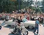 Astronaut Gordon Cooper at Patrick Air Force Base for parade DVIDS687652.jpg