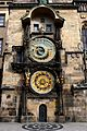 Astronomical clock in Prague Czech Republic in April 2015.jpg