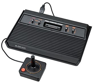 Second generation of video game consoles - Image: Atari 2600 Console
