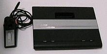 L'Atari 7800 con i joystick originali